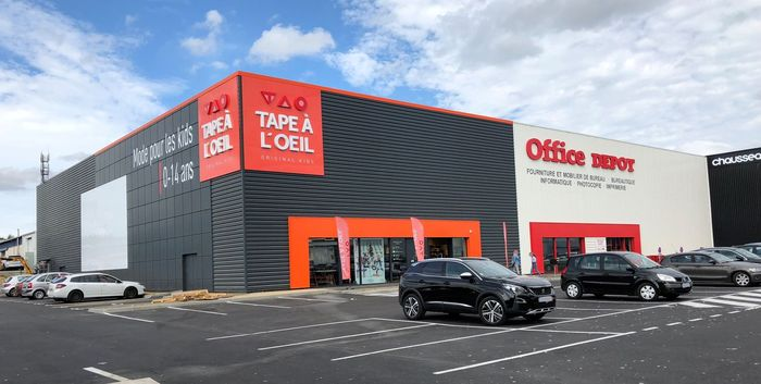 OFFICE DEPOT / TAPE A L'OEIL - ST GREGOIRE (35)