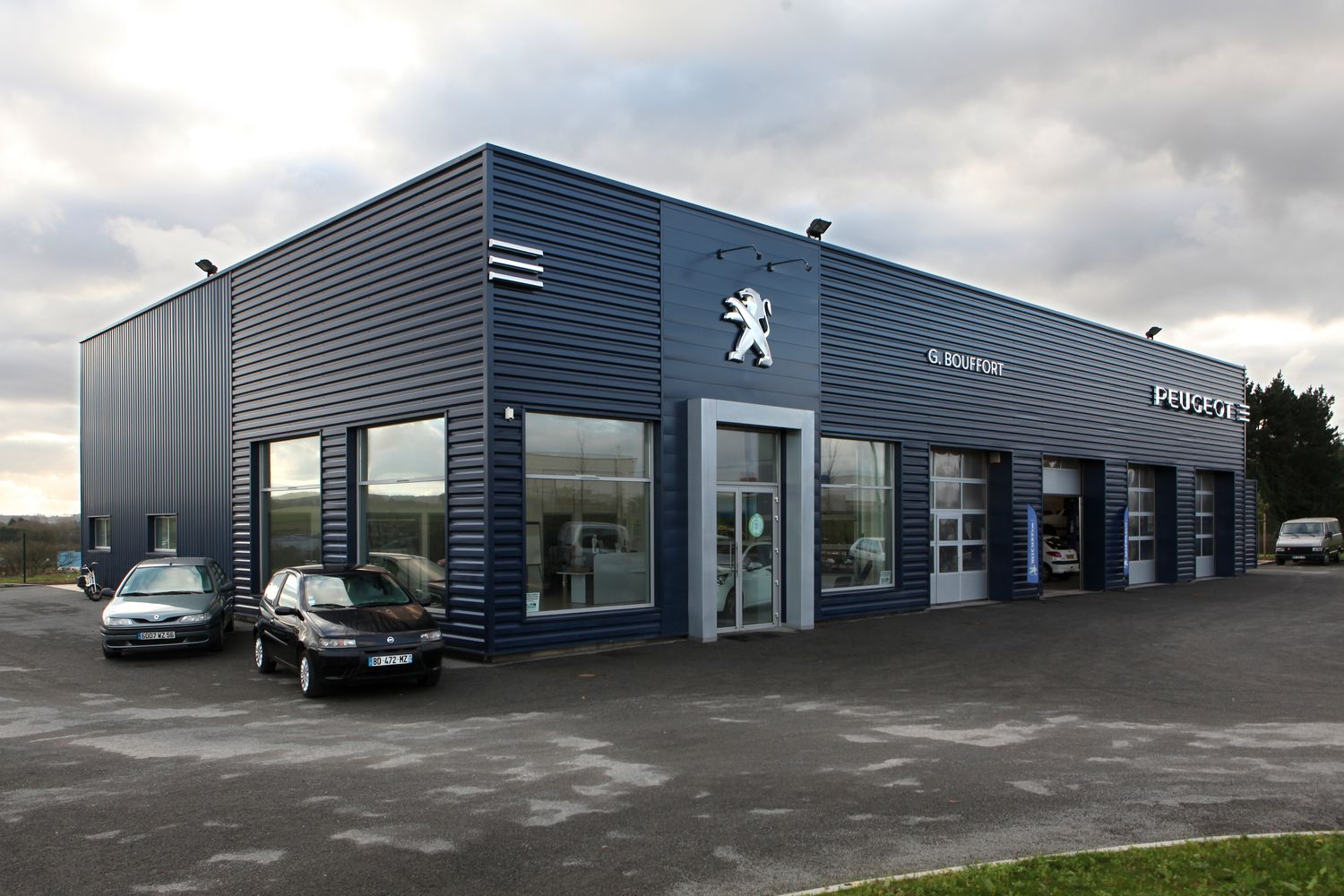 Ace ing nierie abc contractant r alisations peugeot for Garage peugeot bernay