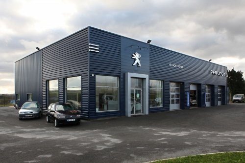 Ace ing nierie abc contractant r alisations peugeot for Garage peugeot chateaulin